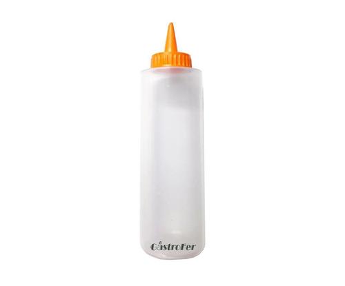 Mostacero 22cm Aderezo Mayonesa Ketchup Sabora Plastico X 6u