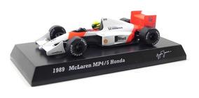 Ayrton Senna Mclaren Mp4/5 Honda 1989 1/64 Kyosho