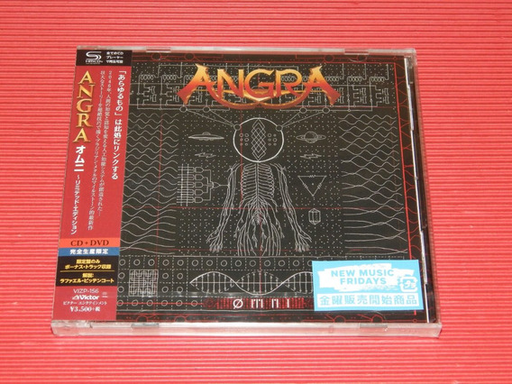 Angra - Ømni [shm-cd] + Dvd [japonês + Obi] Limited Edition