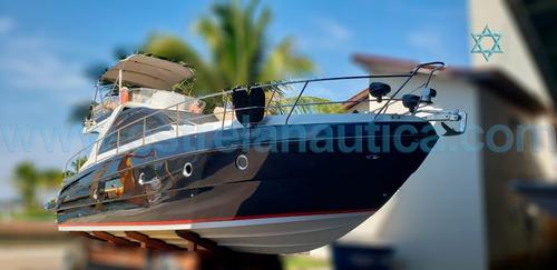 Lancha Cimitarra 44 Barco Iate N Ferreti Azimut Intermarine