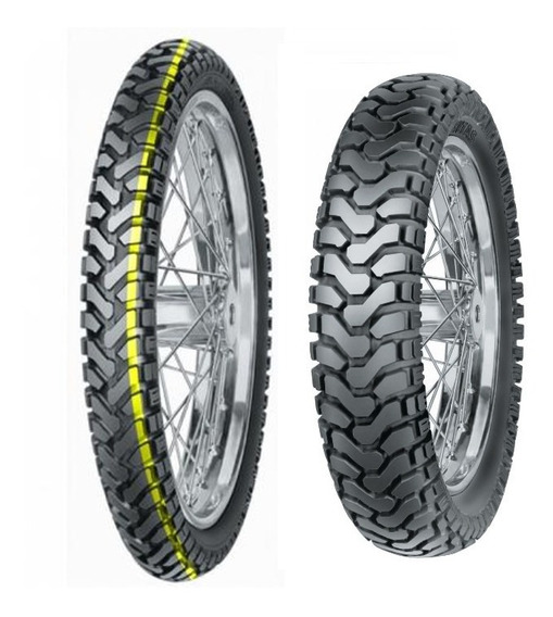 Pneus Mitas E-07 90/90-21 150/70-17 Bmw Gs 800 850 Tiger 800
