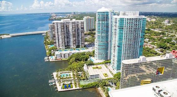 Espectacular Departamento En Miami Sobre La Bahía.