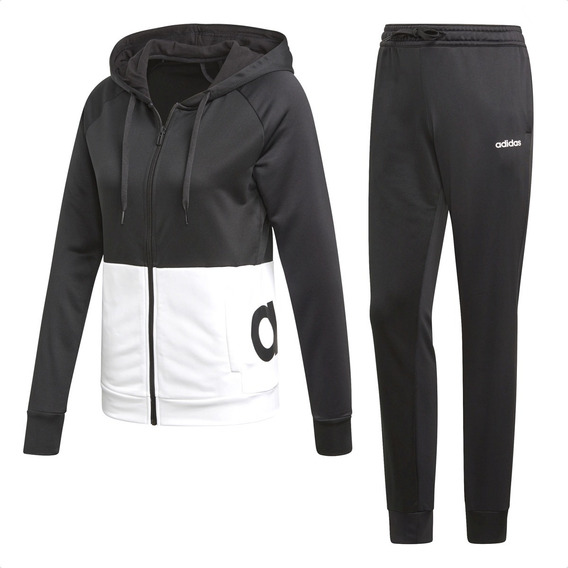 Conjunto adidas Wts Linear French Terry Mujer Training