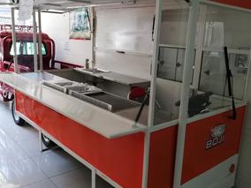Food Truck Eléctrico, Carro De Comida Eléctrico Autónomo
