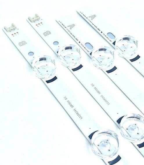 Kit Com 4 Barras Led Tv Lg 39lb - 39lb5600 39lb5800 39lb6500