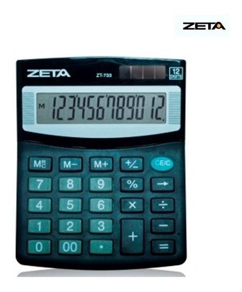Calculadora De Mesa Zt733 Zeta