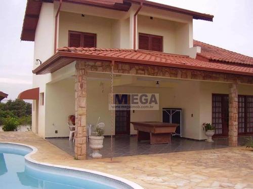 Casa Com 3 Dormitórios À Venda, 300 M² Por R$ 949.900,00 - Estância Recreativa San Fernando - Valinhos/sp - Ca0876