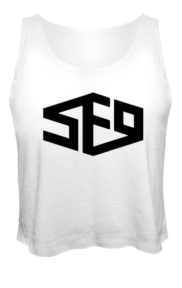 Camiseta Cropped Kpop Sf9