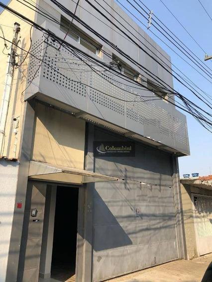 Galpão Para Alugar, 310 M² Por R$ 6.500,00/mês - Vila Independência - São Paulo/sp - Ga0040