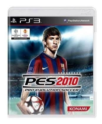 Game Play3 - Pes 2010 - Semi-novo Jogo Ps3