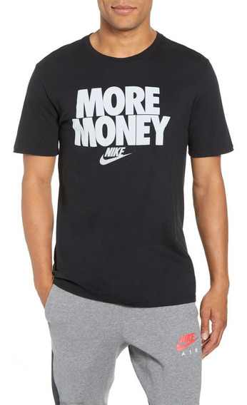 Playera Camiseta Mas Dinero Nike More Money Logo Unisex