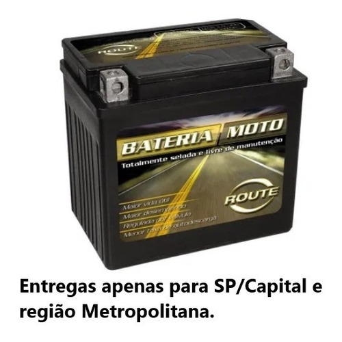 Bateria Route - Moto - 18 Amperes - Ytx20l-bs
