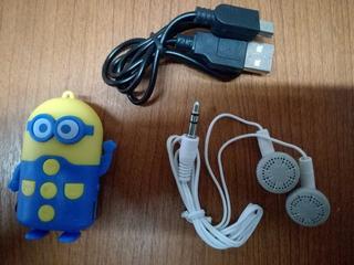 Reproductor Mp3 Minion Para Tarjetas Microsd