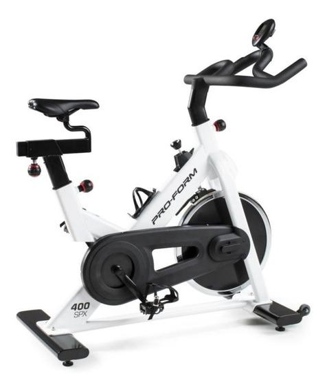 Bike Spinning Proform 400 Spx Branca 2 Ajustes Para Selim E