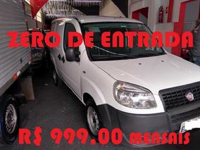 Fiat Doblo Cargo 1.8 Dir. Hidraulica 2015 Zero De Entrada