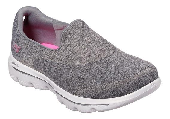Zapatillas Skechers Mujer Caminar Ultra Go Walk - Ahora 12
