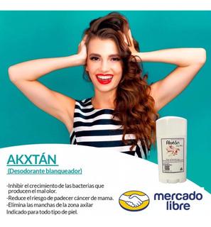 Desodorante Lissy Millan Akxtan. Envío Gratis Inmediato