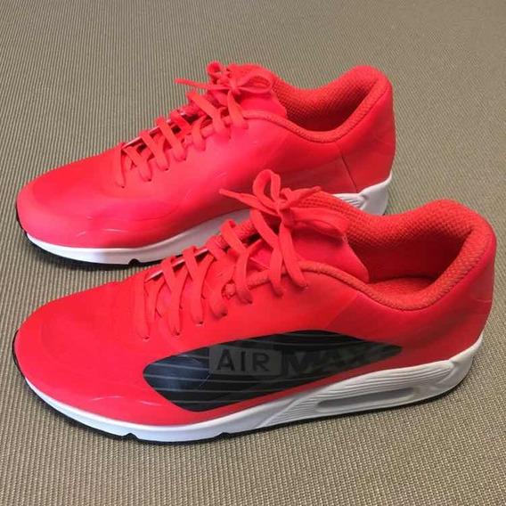 Tênis Nike Air Max 90 Original, Imp. Masc. Vermelho, 42