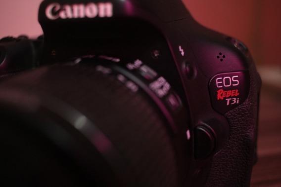Canon T3i + Lente Do Kit + Lente 18-135mm E Acessórios