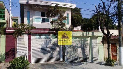 Imagem 1 de 9 de Sobrado Com 3 Dormitórios, 283 M² - Venda Por R$ 1.060.000,00 Ou Aluguel Por R$ 4.000,00/mês - Parque São Domingos - São Paulo/sp - So2498