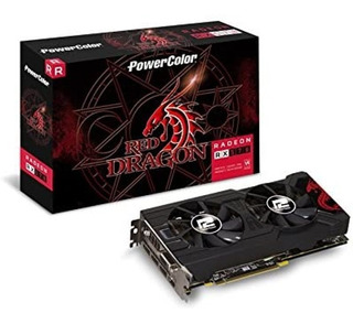 Radeon Rx 570 Powercolor Red Dragon 4gb Gddr5