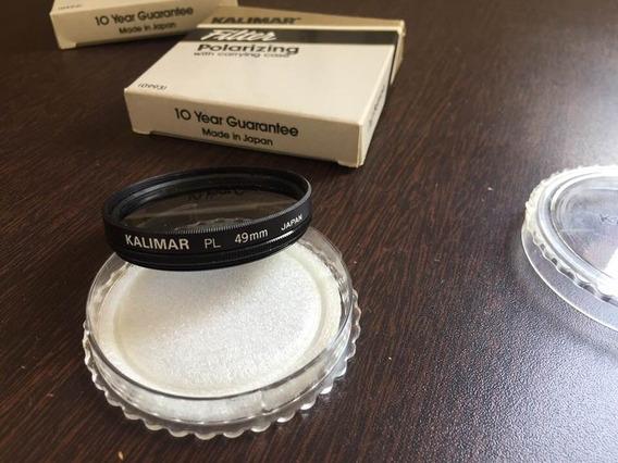 Filtros Para Lentes Kalimar 49mm Pl Polarizador