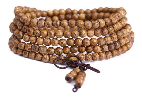 Japa Mala 108 Contas, Buda - Pulseira - Yoga - Hoponopono