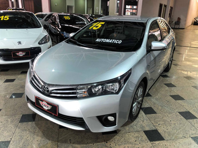 Toyota Corolla 2.0 Xei 16v Flex 4p Automático 2014 2015
