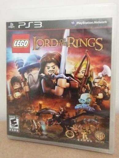 Jogo Lego The Lord Of The Rings Ps3 Midia Fisica