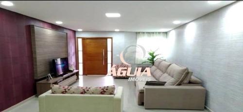 Imagem 1 de 18 de Sobrado Com 3 Dormitórios À Venda, 250 M² Por R$ 950.000,00 - Vila Dora - Santo André/sp - So1494