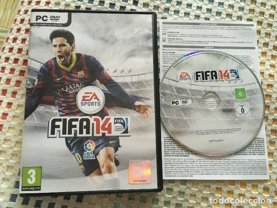 Fifa 14 Pc Dvd Original Usado