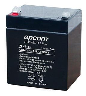 Bateria Recargable Respaldo 12v 5ah 10x9x7 Cm Epcom