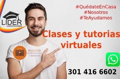Clases Y Tutorias Virtuales, Ayudamos Con Tus Trabajos.