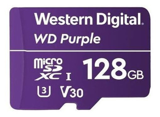 Memoria Microsdxc 128gb Purple Western Digital Wdd128g1p /vc
