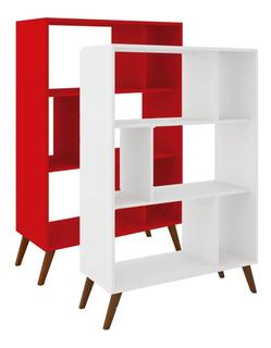 Biblioteca Estanterias Linea Retro Living Comedor Bla Rt3015