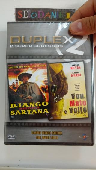 Dvd Django Desafia Sartana / Vou, Mato E Volto - Lacrado