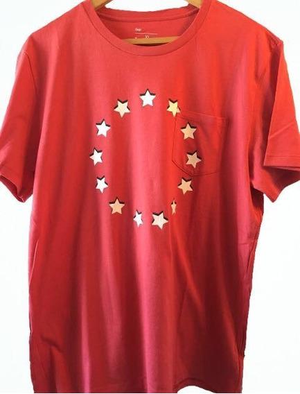 Remera Gap Estrellas