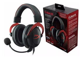 Headset Fone De Ouvido Kingston Hyper X Cloud 2 Black Friday