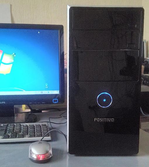 Cpu Pentium Dual Core 3.4ghz, 2gb Ddr, Hd 80gb, Windows 7