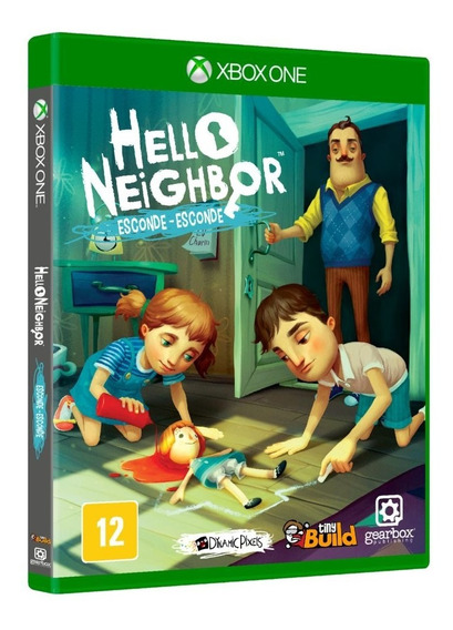 Hello Neighbor Esconde Esconde (mídia Física) Xbox One Novo
