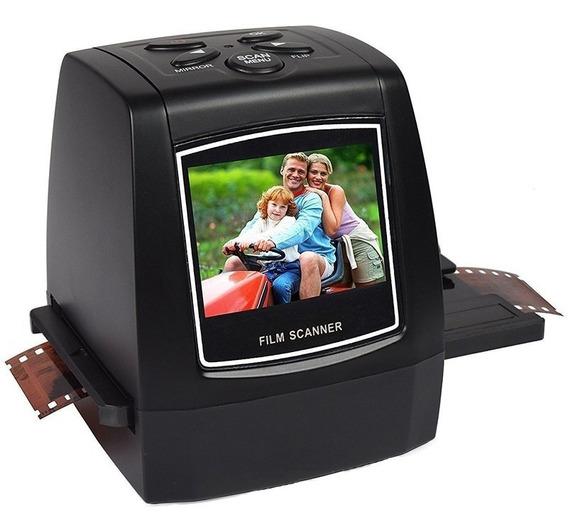 Scanner Digital Conversor Filme 35mm Negativos E Slides