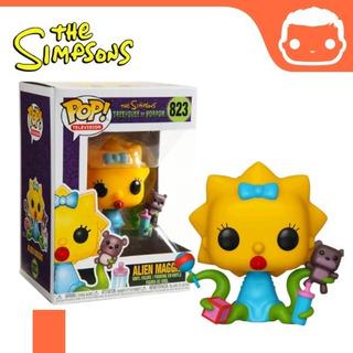 Muñeco Funko Pop Los Simpsons Maggie Alien 823 Original!!