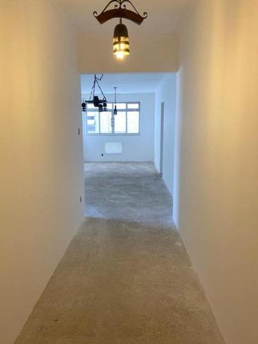 Apartamento À Venda, 91 M² Por R$ 447.000,00 - Campo Grande - Santos/sp - Ap1731