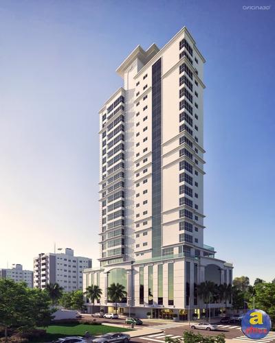 Imagem 1 de 12 de Apartamento 3 Suítes, 2 Vagas De Garagem Na Meia Praia Em Itapema/sc - Imobiliária África - Ap00197 - 34454995