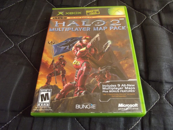 Halo 2 Multiplayer Map Pack Completo Para Xbox