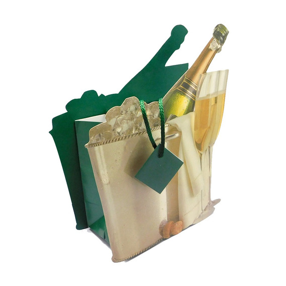 Bolsas Regalo Set 12 Champagne Bucket Dcm-126 Good And Good