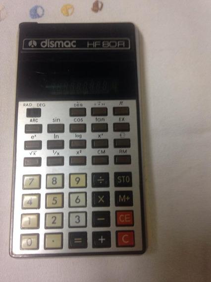 Calculadora Dismac Hf 80r Display Verde Com Case