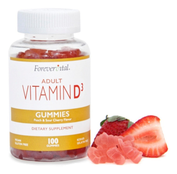 Vitaminas En Gomitas - Suplementos - Vitamina D3