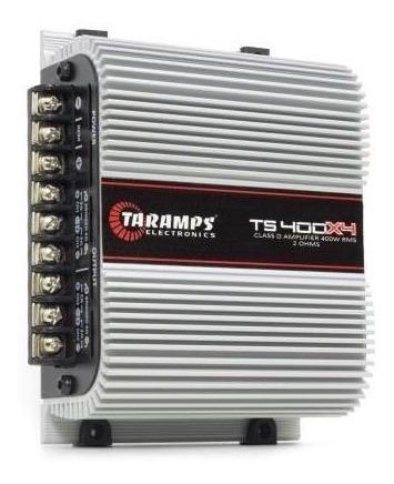 Módulo Taramps Ts400x4 Ts 400 400w Rms Amplificador 4 Canais