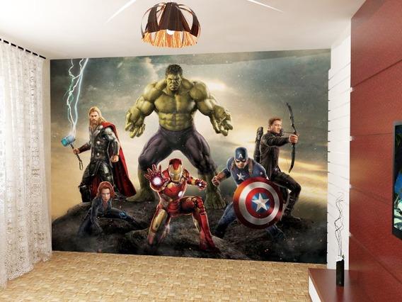 Vinilos Decorativos Pared Infantiles Avengers Autoadhesivos